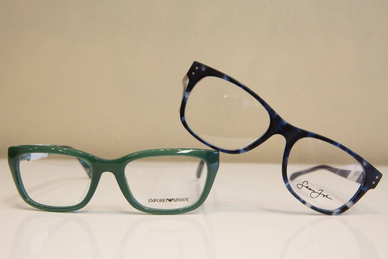 glasses frames green blue in st. charles and overland